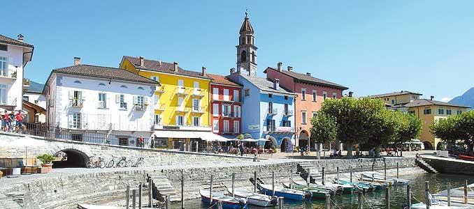 Das Bild zeigt Ascona