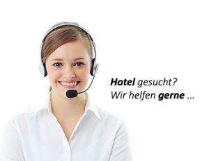 Hotel gesucht? Wir helfen gerne!
