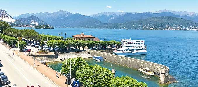 Bild zeigt Stresa am Lago Maggiore