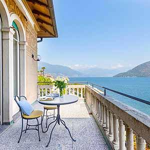 Bild zeigt Hotel am Lago Maggiore.